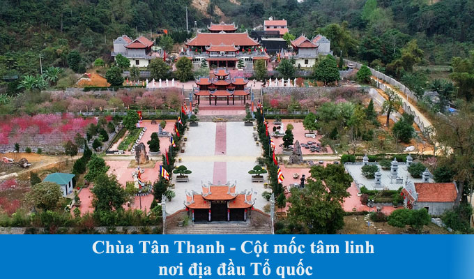Chùa Tân Thanh - Cột mốc tâm linh nơi địa đầu Tổ quốc