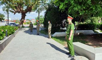 Thành phố Lạng Sơn thực hiện nghiêm công tác phòng dịch trong ngày Quốc khánh 2/9