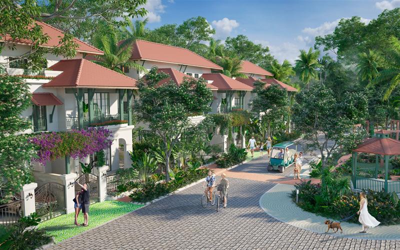 """Sun Tropical Village – """"Ngôi làng nhiệt đới"""" tại Nam Phú Quốc"""
