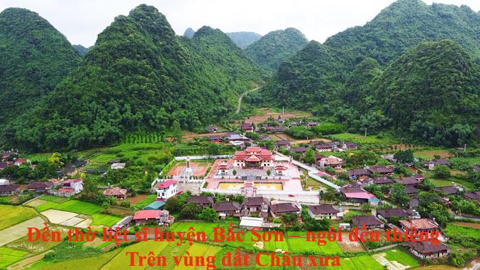 Đền thờ liệt sĩ huyện Bắc Sơn – ngôi đền thiêng Trên vùng đất Châu xưa