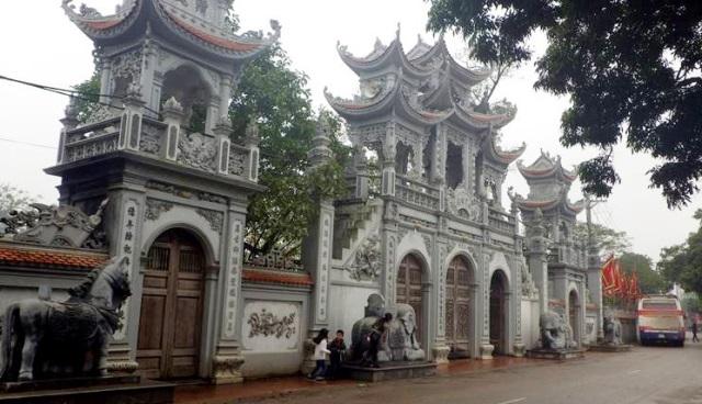 Tu bổ, tôn tạo di tích Đền Tiên La, tỉnh Thái Bình
