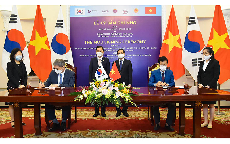 Hợp tác Hàn Quốc - Việt Nam phát triển sâu đậm