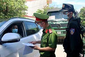 Công an toàn tỉnh: Bám chốt chống dịch, đảm bảo an ninh trật tự tại cơ sở