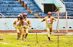 Hội thi thể thao Nghiệp vụ chữa cháy và cứu nạn, cứu hộ cơ sở Cụm thi số 1