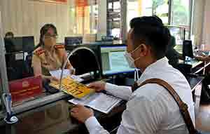 Chuyển đổi biển số xe kinh doanh vận tải: Tránh để dồn vào thời điểm cuối năm