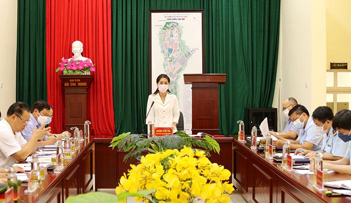 Lãnh đạo UBND tỉnh kiểm tra tình hình xuất, nhập khẩu hàng hóa tại cửa khẩu Chi Ma