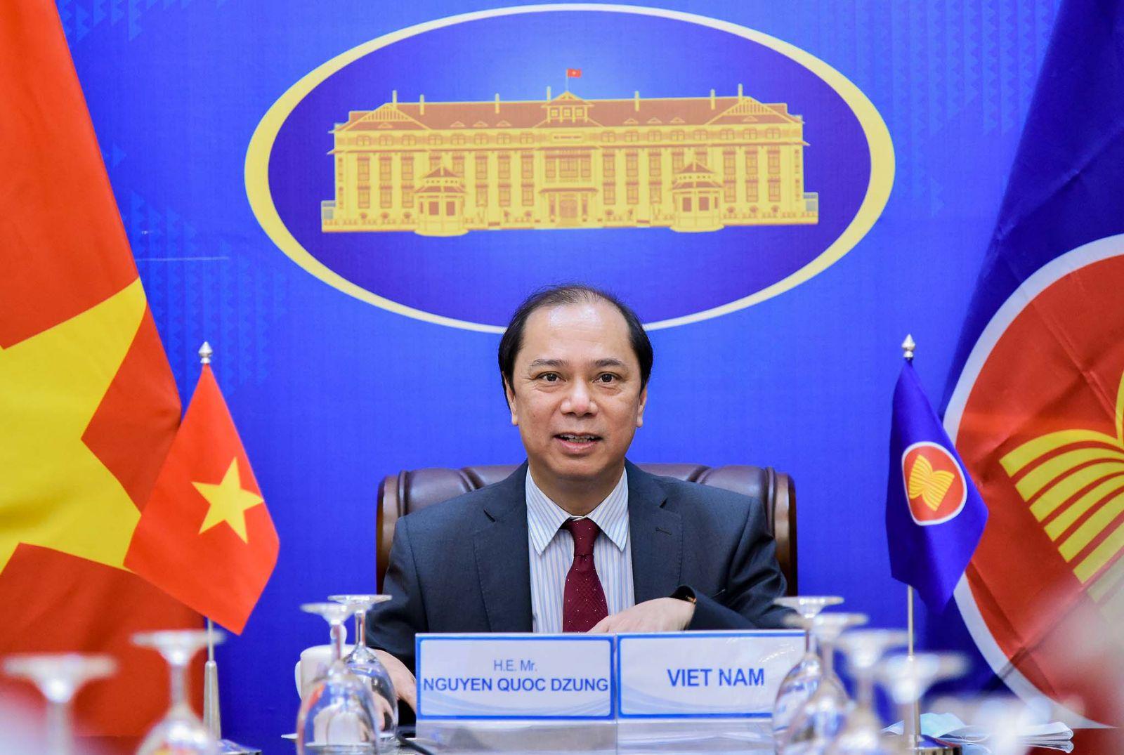 Hội nghị trù bị các quan chức cao cấp ASEAN