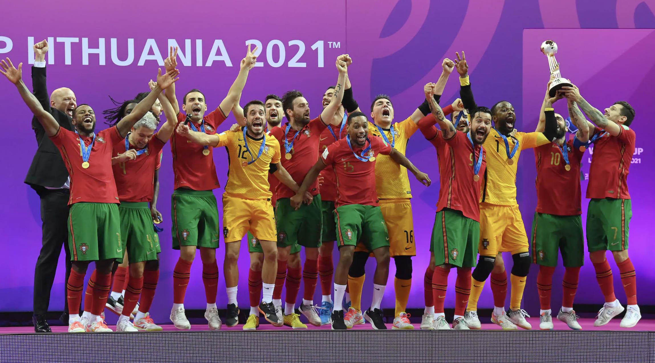 Thắng 2-1 Argentina, Bồ Đào Nha lần đầu vô địch Futsal World Cup