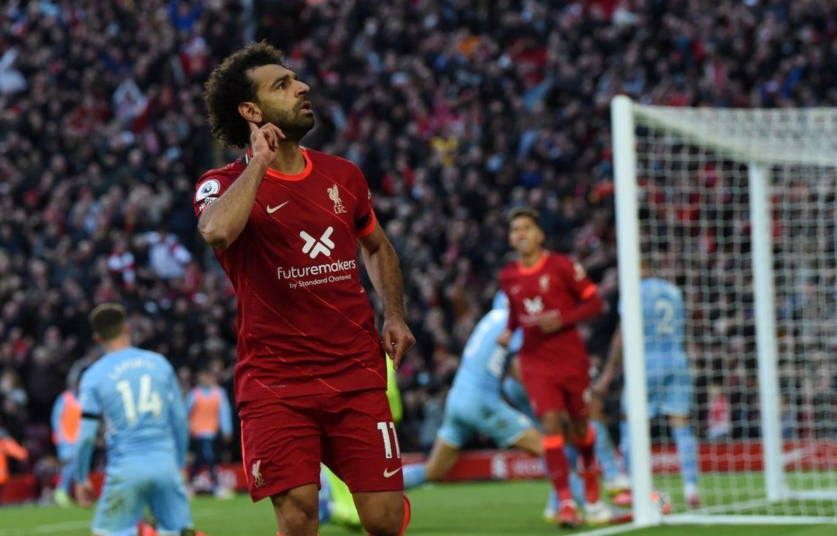 Liverpool chia điểm Man City sau màn rượt đuổi tỷ số kịch tính