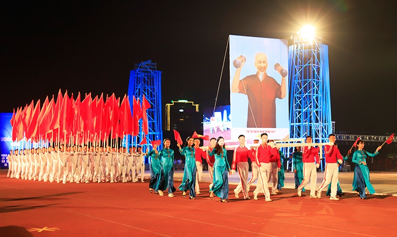 Đại hội thể thao toàn quốc năm 2022 sẽ tổ chức khoảng 40 môn