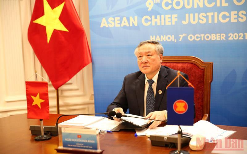 Hội nghị Hội đồng Chánh án các nước ASEAN lần thứ 9