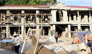 Xây dựng nông thôn mới ở Văn Lãng: Dồn lực xã điểm