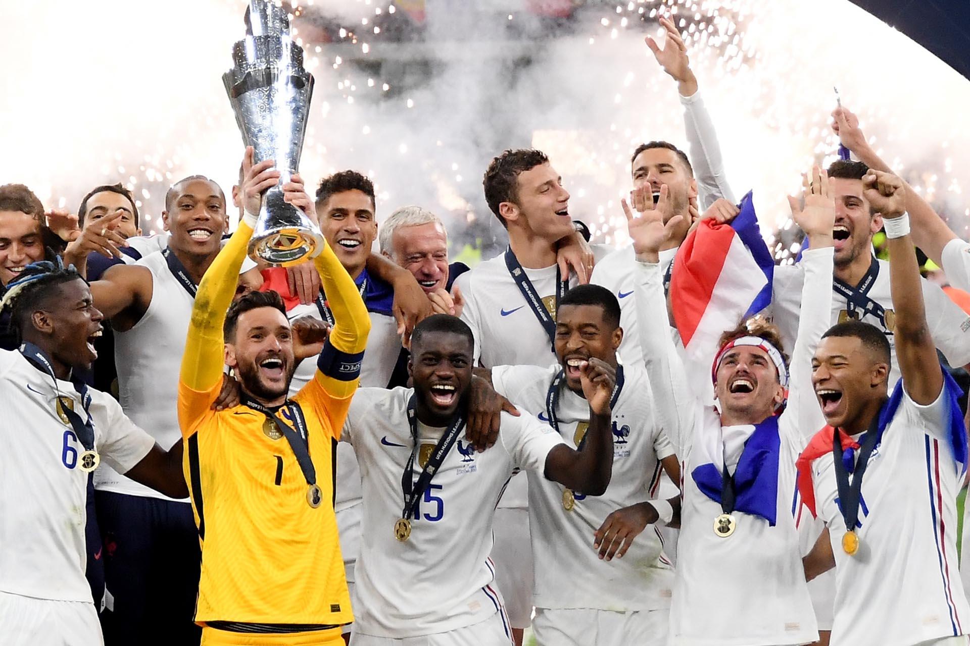 Đội tuyển Pháp giành ngôi vô địch UEFA Nations League