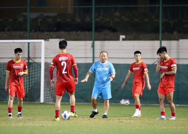 Vòng loại cuối FIFA World Cup 2022: Việt Nam nỗ lực giành điểm số