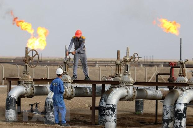 Giá dầu thô của Mỹ tăng lên mức cao nhất kể từ cuối năm 2014