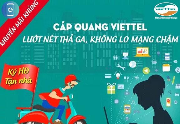 Lắp đặt internet Viettel tốc độ cao với giá chỉ từ 185K + Nhiều ưu đãi