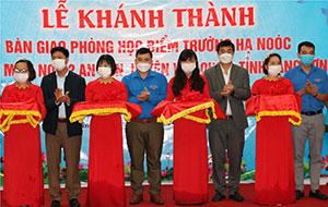 """Văn Quan: Bàn giao """"Trường đẹp cho em"""" tại điểm trường Hạ Noóc, Trường Mầm non 2 xã An Sơn"""