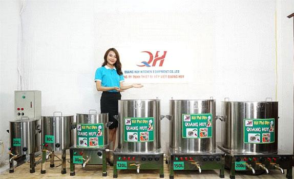 Nồi nấu phở điện Quang Huy Plaza -  không thể thiếu trong các quán ăn nhà hàng