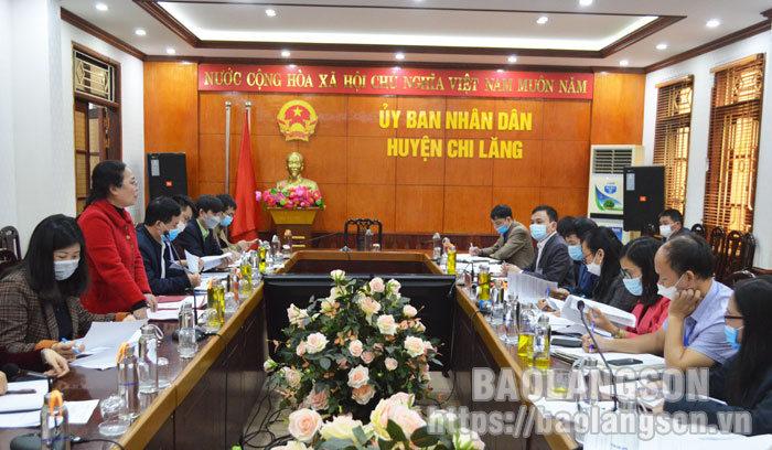 Kiểm tra công tác kiểm soát, cải cách thủ tục hành chính tại huyện Chi Lăng