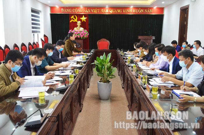 Kiểm tra công tác kiểm soát, cải cách thủ tục hành chính tại huyện Hữu Lũng