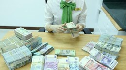 Reference exchange rate down 1 VND on November 8