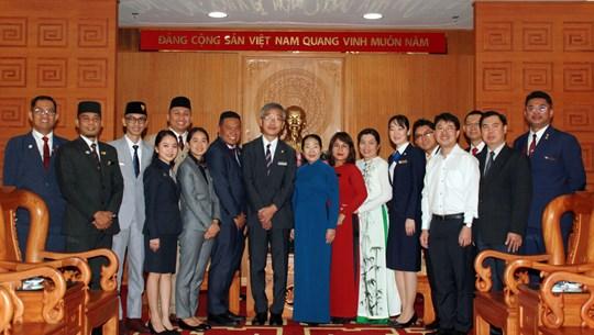 HCM City's leader welcomes delegates of SSEAYP