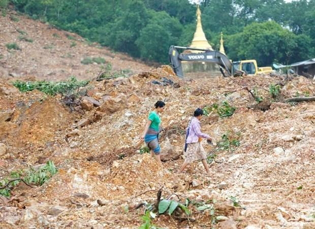 Death toll rises to 69 in Myanmar monsoon landslide