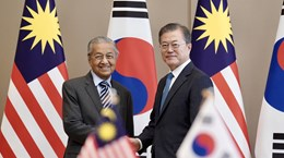 Korean, Malaysian leaders agree to lift ties to strategic partnership