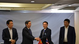 Journalists' organisations of Vietnam, Thailand boost cooperation