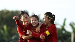 SEA Games 30: Vietnam to face Philippines in women's football semi-final