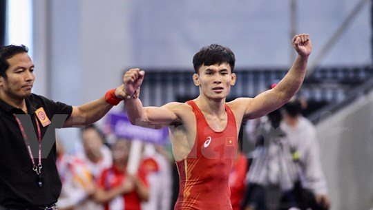 SEA Games 30: Wrestlers bring home three more gold medals