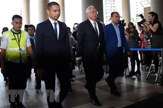 Former Malaysian PM in court for 1MDB corruption scandal