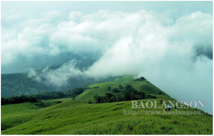 """Cloud hunting"" season in Mau Son Mountain"