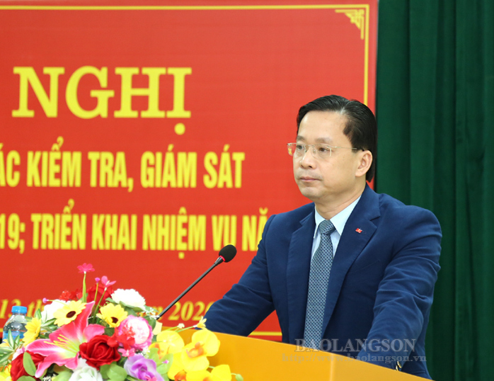 Lang Son province reviews Party's inspection, disciplinary work