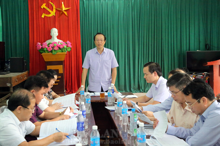 Lang Son leader examines new-style rural area building in Trang Dinh district