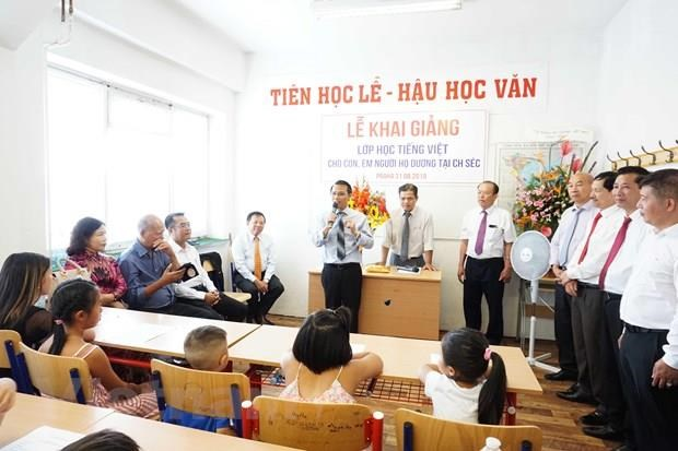 Free Vietnamese course held for children in Czech Republic