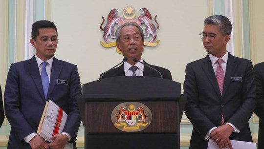 Malaysia's Cabinet members to give two months' salary to Covid-19 fund