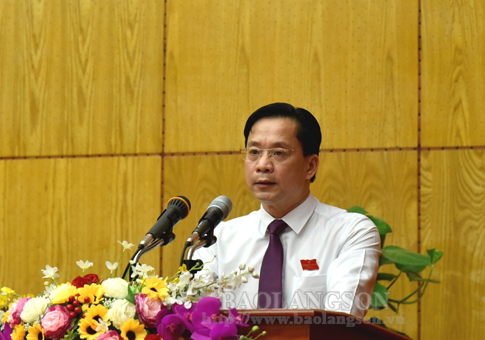 Lang Son provincial People's Council convenes 15th session