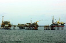 Vietsovpetro launches wellhead platform's base at Bach Ho field