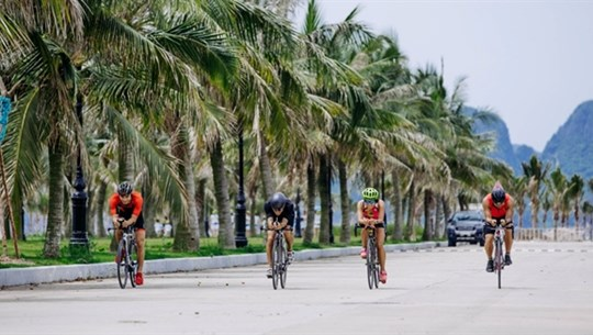 Athletes to compete in Tuan Chau Sunset Triathlon in August
