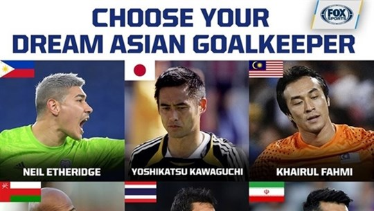 Lam named as one of Asia's best nine goalies by FOX Sports