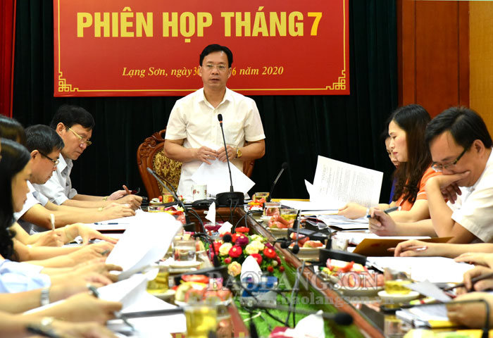 The Standing Committee of the Provincial People's Council convened in July
