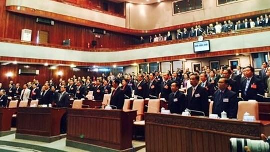 Lao legislature's 10th session opens