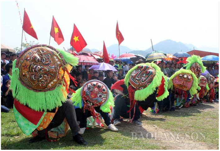 Paying attention to preserve the lion dance heritage of the Tay and Nung people