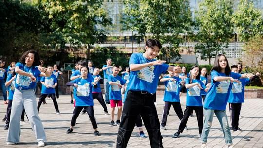 Dance challenge raises public awareness of environmental protection