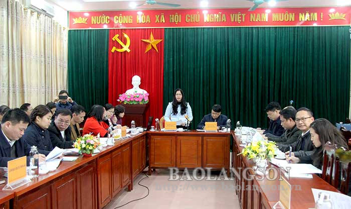 Press conference to announce socio-economic statistics of Lang Son province in 2020