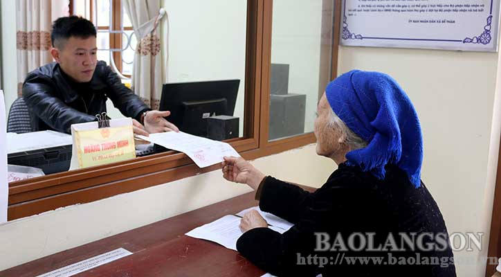 Administrative procedure reform to facilitate the people