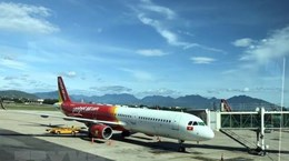 Vietjet cancels flights due to Tapah storm in RoK