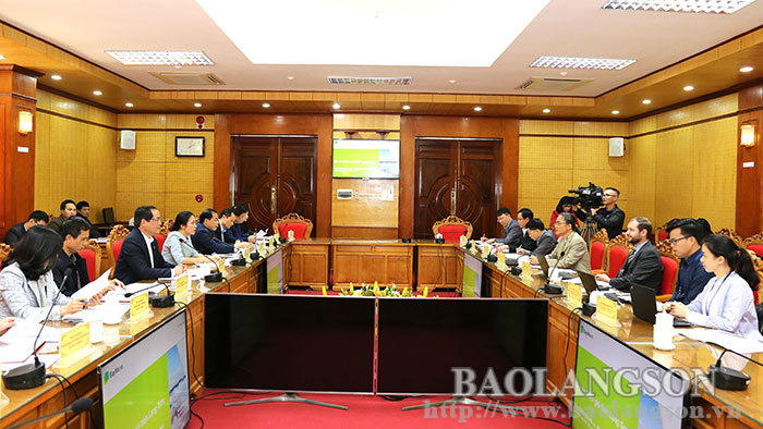 The leader of the Provincial People's Committee worked with BayWa r.e Wind Projects Viet Nam Co., Ltd