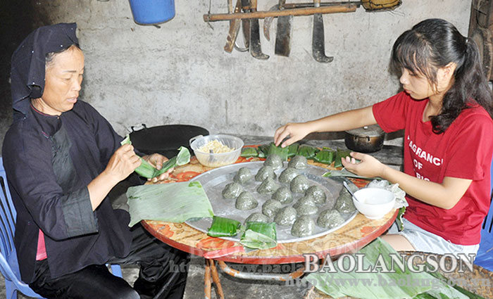 Tay and Nung people in Lang Son celebrated the Cold Food Festival with national cultural identity